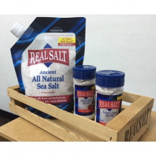浚泰天然海鹽 3品組-細鹽135g x2+細鹽737g x1