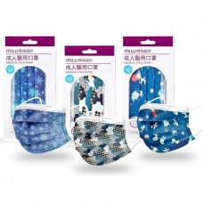 MILU玩美設計醫用口罩3盒組(30片)