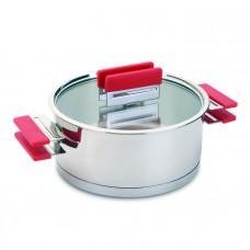 彩虹湯鍋(紅)24cm