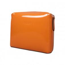 Cassetta 經典信封包(亮面塗層帆布/甜橘橙)