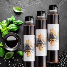 究藏三年熟成黑豆純釀醬油(3入)