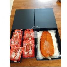 頂級野生烏魚子禮盒(五兩烏魚子一片+二兩一口吃)