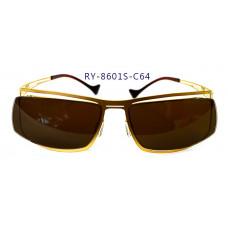 無螺絲一體成型墨鏡男款(金色框),抗UV400鏡片