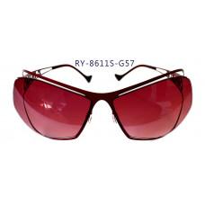 無螺絲一體成型墨鏡女款(紅色框),抗UV400鏡片