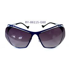 無螺絲一體成型墨鏡女款(藍色框),抗UV400鏡片