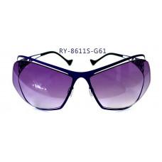 無螺絲一體成型墨鏡女款(紫色框),抗UV400鏡片