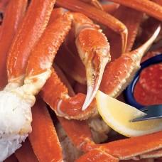 阿拉斯加熟凍松葉蟹腳半身肩(二副)